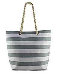 Thomas Calvi Striped Beach Bag