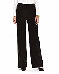 Wide Leg Trousers Length 28in
