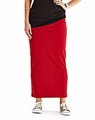Plain Maxi Tube Skirt