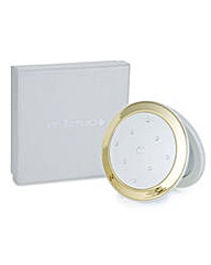 Jon Richard Cream round compact mirror