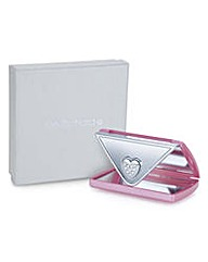 Jon Richard Pink envelope compact mirror