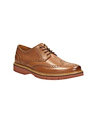 Clarks Newkirk Wing Shoes