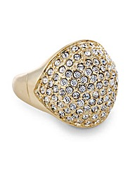 Mood Cushion Pave Dome Ring
