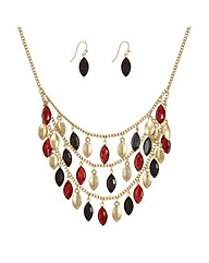 Mood Statement Navette Shape Droplet Set