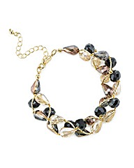 Mood Beaded Twist Bracelet
