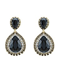Mood Embellished Teardrop Earring