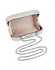Jon Richard Crystal Satin Clutch Bag