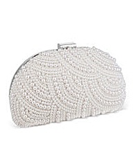 Jon Richard Pearl Embellished Clutch Bag