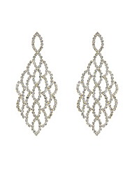 Mood Diamante Lattice Chandilier Earring