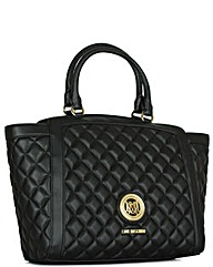 Love Moschino BKL Quilted Tote Bag