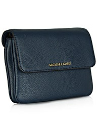 Michael Kors B Double Navy Crossbody