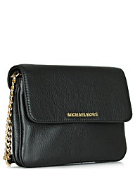Michael Kors B Double Black Crossbody