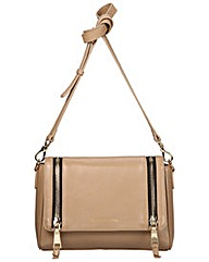 Smith & Canova Flap-over Shoulder Bag