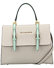 Smith & Canova Large Flap-over Satchel