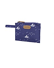 Brakeburn Boats & Birds Flat Purse