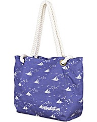 Brakeburn Boats & Birds Beach Bag