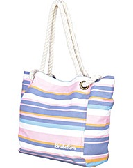 Brakeburn Multi Stripe Beach Bag