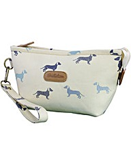 Brakeburn Sausage Dog Cosmetic Bag