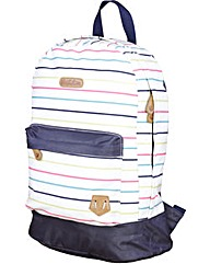 Brakeburn Multi Stripe Backpack