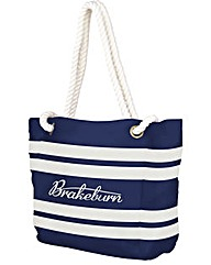 Brakeburn Classic Stripe Beach Bag