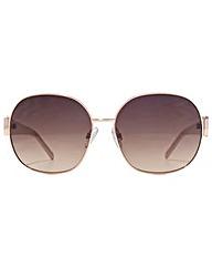 Carvela Metal Round Sunglasses