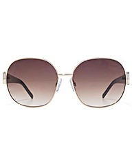 Carvela Metal Round Sunglasses