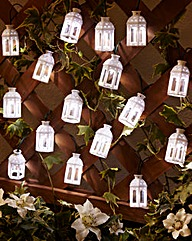 Set of 16 Moroccan Solar Light String