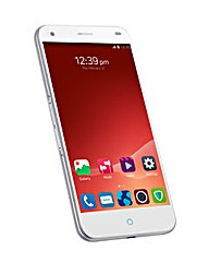 ZTE Blade S6 S/Free Android 16GB-Wht/Sil
