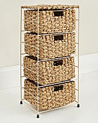 Chunky Rush 4 Tier Wide Drawer Unit