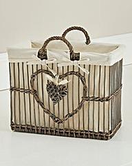 Willow Heart Magazine Rack