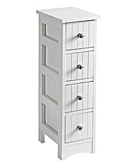 New England 4-Drawer Unit