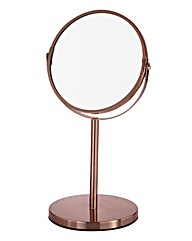Copper Pedestal Mirror