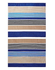 Marine Stripes Beach Towel