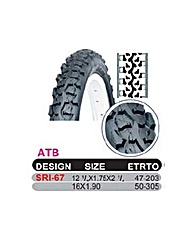 Avocet DSI 14 x 1.75 ATB Tyre