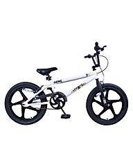 Zinc Backbone 20 Inch BMX Bike - Unisex.