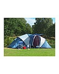 Trespass Go Further 6 Man Carpeted Tent.