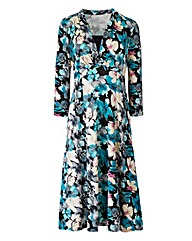 Dress with contrast inset Length 43in