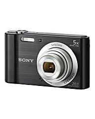 Sony DSC-W800 Camera Black