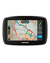TomTom 4.3in Sat Nav With Traffic & Maps