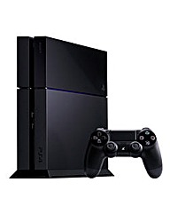 PS4 Console 500GB Black