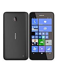 Vodafone Nokia Lumia 635 Black