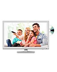 Sharp 22in LED/DVD Combi White TV