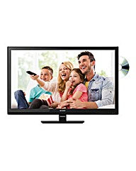 Sharp 24in LED/DVD Combi Black TV