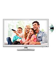 Sharp 24in LED/DVD Combi White TV