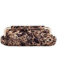 Claudia Canova Clasp Top Leopard Print