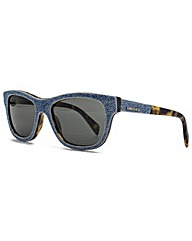 Diesel Denim Wayfarer Sunglasses