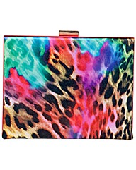Claudia Canova Leopard Print Clutch