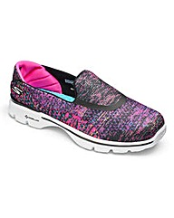 Skechers Go Walk 3 Womens Trainers Wide
