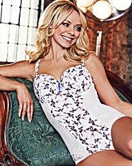 Liz McClarnon Bird Print Bodyshaper