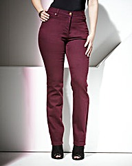 TRULY WOW Coloured Slim Leg Jeans Short